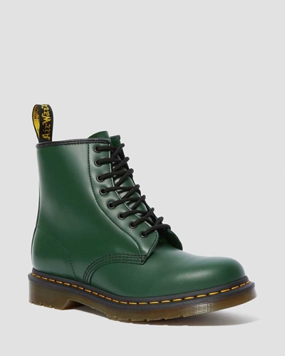 Dr MArtens Smooth 1460 Green