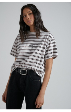Afends T-Shirt Niko Stripe Oversized